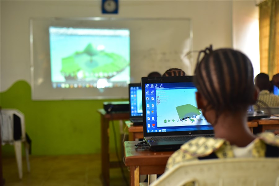 ICT Classes in Primary School
